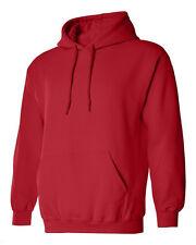Hoodie Plain Blank Sweatshirt Men Women Hooded Pullover Fleece Cotton New S-4X