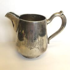 Antiques Antique Vintage 1895 Russian Imperial Silver 84 Gold Wash Cream Pitcher Jug Old Silver