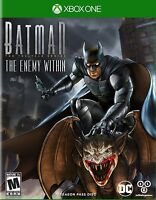 Batman: The Enemy Within -- The Telltale Series: Season Pass Disc (Xbox One) NEW