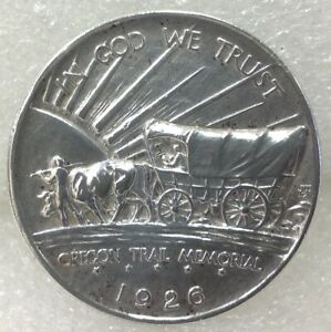 1926 - S Oregon Trail Silver Commemorative Half Dollar