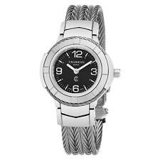 Charriol Women's Celtic Black Dial Stainless Steel Quartz Watch CE426S640003