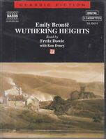 Wuthering Heights Emily Bronte 3 Cassette Audio Book Abridged Freda Dowie