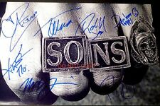 """Sons of Anarchy FX TV Show 8x12"""" reprint Signed Cast Photo Autographed RP"""