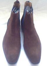 Paul Smith Men's Shoe Vesuvio Chocolate Chelsea Boots.