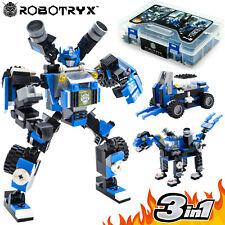 Robot Stem Toy 3 in 1 Fun Creative Set Construction Building Toys for Boy Medium