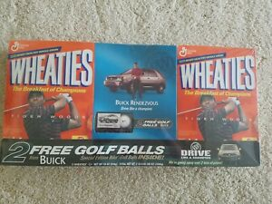 Tiger woods wheaties box Sealed 3-pack