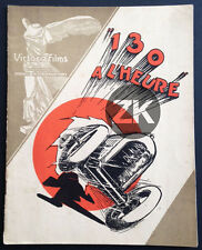 """130 A L'HEURE"" Voiture Course Maurice ELVEY Gray Goddard Film Muet DP 1928"
