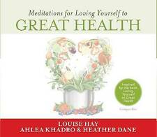Meditations for Loving Yourself to Great Health by Louise L. Hay CD NEW