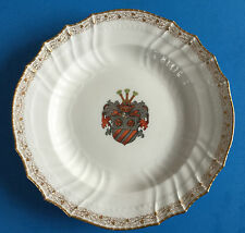 Wappenteller KPM, Adelsgeschlecht VON BARSSE, Mecklenburg, Historismus, Heraldik