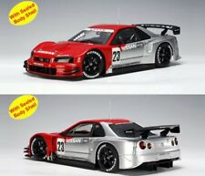 2003 NISSAN SKYLINE GT-R TEST CAR JGTC #23 NISM 1/18  BY AUTOART 80380