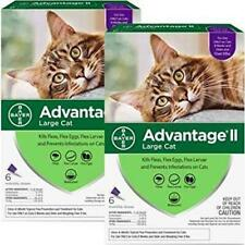 Bayer Advantage II Cats over 9lbs 12 months Supply new sealed EPA product