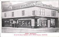 Boston. John Beedall Shop, 34 & 36 Strait Bargate & 2 Wide Bargate. Draper &c.