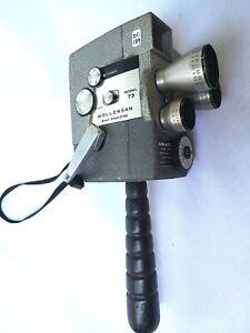 Vintage Wollensak 8 mm Movie Camera - Model 73 Eye-Matic - Working