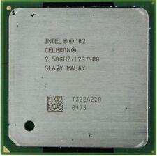 Processore socket 478 Celeron 2.50 / 128 kb cache  / 400 Mhz Bus SL6ZY PPGA478