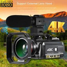 Andoer 4K WiFi ULTRA HD 24MP 30X ZOOM Digital Video Camera Camcorder DV Recorder