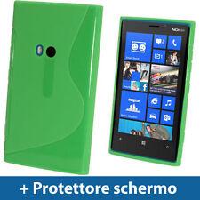 Custodie preformate/Copertine verde per Nokia Lumia 920