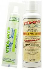 VITA-MYR Value Package 6 ? 1 Tube 5.4 Oz Zinc+ Xtra W/ Xylitol and CoQ 10 and