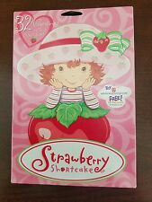32 Strawberry Shortcake Valentine's Day Cards w/ 8 Card Designs, 32 Stickers New