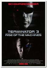 TERMINATOR 3 - 2009 - original 27x40 INTL Movie Poster- ARNOLD SCHWARZENEGGER