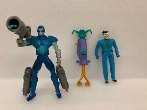 "DC Comics Kenner 1996 Joker & 1997 Ice Blast Mr Freeze 5"" Action Figure Animated"