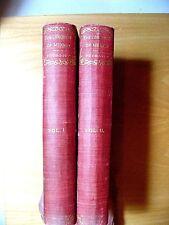 the conquest of mexico Vol I&II Set.William H Prescott History