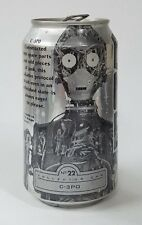 Pepsi ONE 12 oz. Empty Can - Star Wars, Episode I, #22 C-3PO