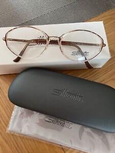 Silhouette SPX Legends Full Rim 1875 6103 53/16 Brown Optical Eyeglasses Frames