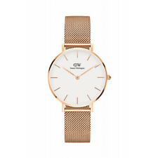 Daniel Wellington Women Classic White/Rose Gold Face Petite Melrose Watch 32mm