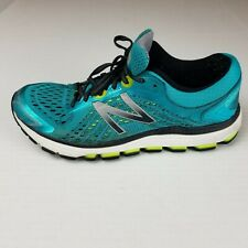 Women's New Balance 1260v7 Running Shoes W1260BY7 Blue Lime Green Size 9.5 US