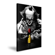 Pennywise The Clown It Stretched Canvas Wall Art ~ More Size