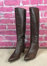 VIA SPIGA Brown Knee high pointy toe boots Women's size 8