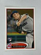 Nick Hagadone Cleveland Indians 2012 Topps Baseball Card 6
