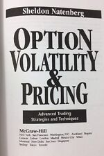 Option Volatility and Pricing by Sheldon Natenberg 1994 Investing Derivatives