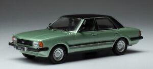IXO MODELS FORD TAUNUS GHIA METALLIC GREEN 1983 1-43 SCALE CLC363N