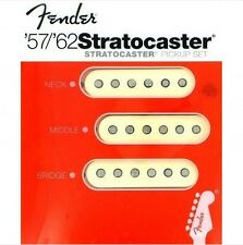 Genuine American Fender Strat Reissue Original 57/62 Vintage Pickup Set USA NEW