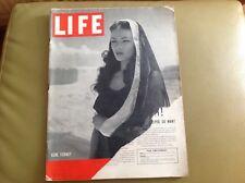 Life magazine November 10, 1941 GENE TIERNEY WWII Signal Corp. English.