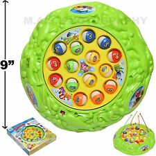 FISHING GAME TOY CLASSIC BOARD PLAY SET ROD - LOTS OF FUN FOR KIDS - NEW IN BOX
