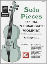 Solo Pieces for the Intermediate Violinist Violin Classical Sheet Music Book