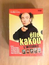 RARE COFFRET 5 DVD / ELIE KAKOU L'INTEGRALE / NEUF SOUS CELLO
