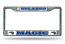 Orlando Magic Chrome Frame Metal License Plate Tag Cover NBA Basketball