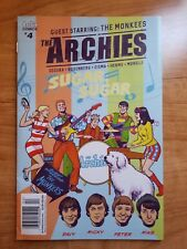 Archies Meet The MONKEES Comic #4, Main Cover, Micky Davy, Peter and Mike