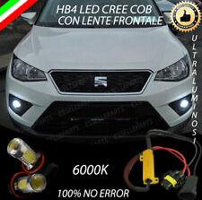 COPPIA LAMPADE FENDINEBBIA HB4 LED COB CANBUS SEAT ARONA 100% NO ERROR