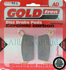 Gas Gas SM 515 FSR Supermotard 4T Rear Sintered Brake Pads (2008) Goldfren