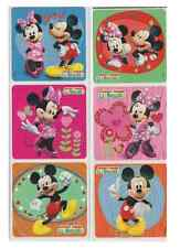 "25 Mickey and Minnie Mouse Glitter Stickers, 2.5"" x 2.5"" each, Party Favors"