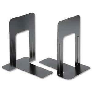 Heavy Duty Metal Bookends Home School Office Stationery Book Ends 2 Pairs (4)