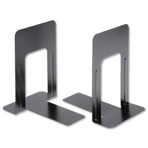 Resistente Metal Sujetalibros Hogar Colegio Material de Oficina 2 Pares (4)