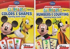 NEW Disney Mickey Learning Game Flash Cards - Set of 2