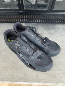 Louis Garneau HRS 90 LS-100 BOA MTB Cycling Clip Pedal Bike Shoes Sz 45 US 11.5
