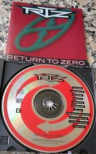 RTZ Return To Zero 1991 RARE CD Face The Music Brad Delp Barry Goudreau Boston
