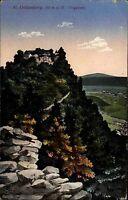 St. Odilienberg Mont Sainte-Odile Elsass Alsace Vogesen AK 1917 Kloster Abtei
